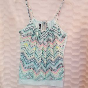 NWT women's Maurice's dressy tank top S